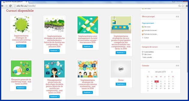 Platforma de e-learning